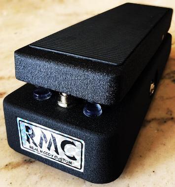 RMC RMC3 wah pedal by Geoffrey Teese
